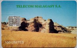 Madagascar Phonecard 100 Units Ruins - Madagaskar