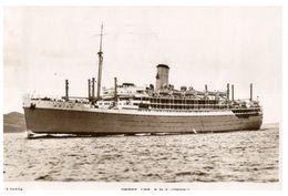 (415)  Older Postcard - RMS Orion Cruise Ship - 1949 - Dampfer