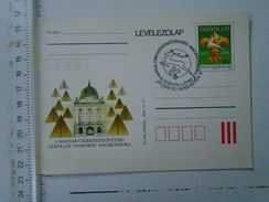 D151167 Hungary  Scouting Scouts  Gödöllö  Jamboree  1933-1993  Postal Stationery - Sin Clasificación