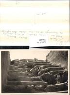 286825,Foto AK Israel Chirbet Qumram Khirbet Qumran Stiege Steinstiege - Israel