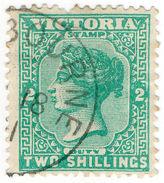 (I.B) Australia - Victoria Revenue : Stamp Duty 2/- (CTO Melbourne Postal) - Sin Clasificación