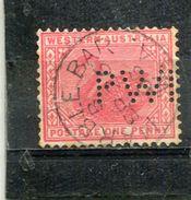 WESTERN AUSTRALIA. 1890-93. SCOTT 62 - Oblitérés