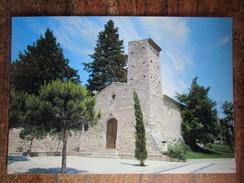 26700 Pierrelatte. L'Eglise Reformee. GAL 7022. Postmarked 1984 - Andere Gemeenten