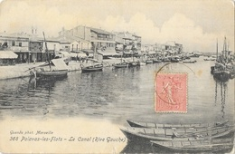 Palavas-les-Flots - Le Canal (Rive Gauche) - Guende Photo - Carte N° 368 - Palavas Les Flots