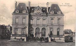 ¤¤  - 2   -  CAEN    -  Gare Saint-Martin   -  Chemin De Fer  -  ¤¤ - Caen