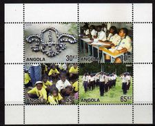 Angola 2007 The 100th Anniversary Of Scouting. MNH - Angola