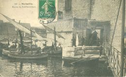 (13) MARSEILLE : Entrée Du Fort Saint-Jean (animée) - Marseilles