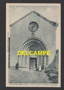 DF / 04 ALPES DE HAUTE PROVENCE / GANAGOBIE / PORTE HISTORIQUE DE L'EGLISE DE GANAGOBIE / ANIMÉE - Andere Gemeenten