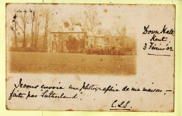 Uk116 Rare DOWN HALL FARNBOROUGH Kent  De Ma MAISON Photo Faîte Par SUTHERLAND 1902 à TESSEREAU Rue 14 Juillet Niort - Inghilterra