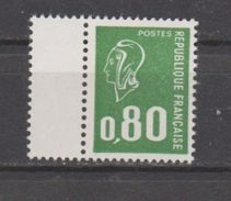 FRANCE / 1976 / Y&T N° 1891b ** : Béquet 80c Vert Typo (sans PHO - Gomme Brillante) - Gomme D´origine Intacte - Neufs