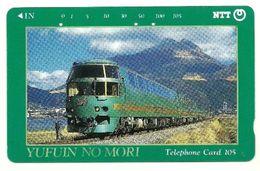 Giappone - Tessera Telefonica Da 105 Units T303 - NTT, - Treni