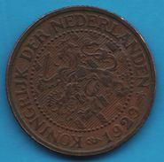 NEDERLAND 2½ CENTS 1929 KM# 150 Wilhelmina KONINGRIJK DER NEDERLANDEN - 2.5 Cent
