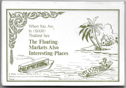 Greetings From Thailand, When You Are In SIAM Thailand See, 12 Pieces - Tailandia