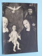 """DARET Jacques """" Ste FAMILLE """" ( Vlaams Kunstschilder ) Foto Jules Messiaen Tournai ( Zie Foto Details ) !! - Célébrités"""