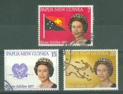 Papua New Guinea: 1977   Silver Jubilee  Used - Papua New Guinea