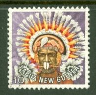 Papua New Guinea: 1977/78   Headdresses   SG320   10t    Used - Papua New Guinea