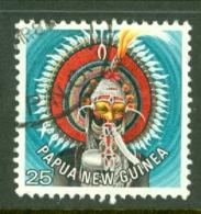 Papua New Guinea: 1977/78   Headdresses   SG323   25t    Used - Papua New Guinea