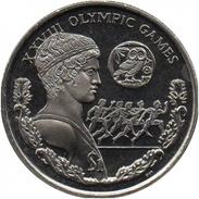 BRITISH VIRGIN ISLANDS 1 DOLLAR 2004 KM # 303 UNC ATHENS OLYMPIC GAMES - British Virgin Islands