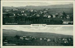 AK Großhartmannsdorf Obersaida, Mittlerer Ortsteil, Oberer Ortsteil, O Um 1936 Landpost Posthilfsstempel (21561) - Duitsland