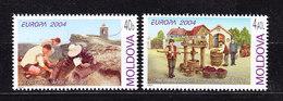 Europa Cept 2004 Moldova 2v ** Mnh (36306F) Promotion - 2004