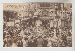CPSM PARIS 6° ARRONDISSEMENT CAFE BAR LITTERAIRE MONTPARNASSE - LA ROTONDE 105 Bd Montparnasse - Distretto: 06