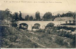 Environs Du Vigan Avèze-Cavaillac Le Pont De Coudoulous  Cpa - Le Vigan