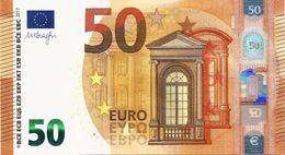 EUROPEAN MONETARY UNION (FRANCE) 50 EURO ND (2017) PNL UNC PREFIX E [EU111e3] - EURO