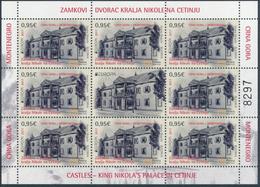 "MONTENEGRO/Crna Gora EUROPA 2017 ""Castles"" Sheetlet** - 2017"