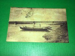 Cartolina Cremona - Ponte Sul Po 1921 - Cremona