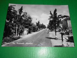 Cartolina Pineto - Via Nazionale Adriatica 1950 Ca - Teramo