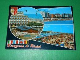 Cartolina Rivazzurra Di Rimini - Vedute Diverse 1974 - Rimini