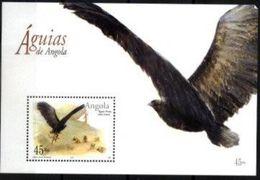 ANGOLA, 2003, FAUNA, BIRDS OF PREY, EAGLES, CE#B.107, SS, MNH - Angola
