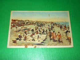 Cartolina Riccione - La Spiaggia 1930 Ca - Rimini