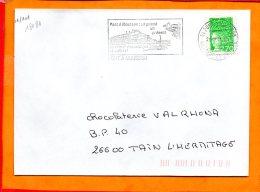 MEURTHE ET MOSELLE, Pont à Mousson, Flamme SCOTEM N° 18181, Un Passé Un Présent, Mégras - Storia Postale