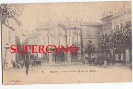 84 VAUCLUSE N°14 AVIGNON PLACE CRILLON ET ANCIEN THEATRE  SELLERIE CARROSSERIE BONDURAND - Avignon