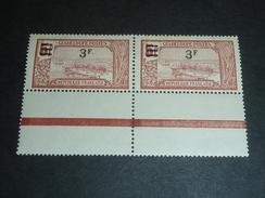 """GUADELOUPE N°96 & N°96a - VARIETE TENANT à NORMAL """" PAS DE """"."""" APRES LE F - EX-COLONIE FRANCAISE  (C.V) - Guadalupe (1884-1947)"""