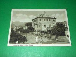 Cartolina Marina Di Massa - Hotel Tirreno 1939 - Massa