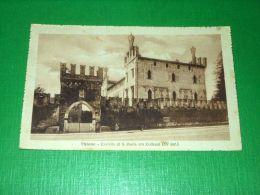 Cartolina Thiene - Castello Di S. Maria Ora Colleoni 1916 - Vicenza