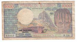Cameroon 1000 Francs 01/04/1978 - Cameroun