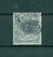 Deutsches Reich. Wertziffer Und Krone Im Perlenoval, Nr. 52 I Gestempelt, Geprüft - Deutschland