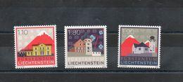Liechtenstein. Villages - Liechtenstein