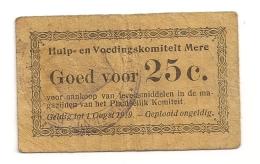 HULP EN VOEDINGSKOMITEIT MERE GOED VOOR 25C CPA604 - Pays-Bas