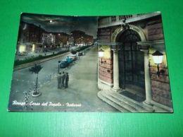 Cartolina Rovigo - Corso Del Popolo ( Notturno ) 1959 - Rovigo