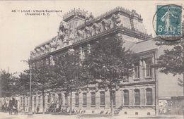 Cp , 59 , LILLE , L'École Supérieure (Franklin) - Lille