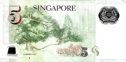 SINGAPORE P. 47d 5 D 2007 UNC - Singapour