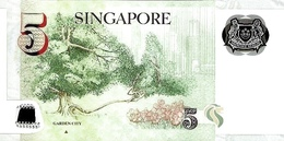 SINGAPORE P. 47d 5 D 2007 UNC - Singapore