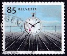 Svizzera, 2003/2004 - 85c Station Clock - Nr.1168 Usato° - Switzerland