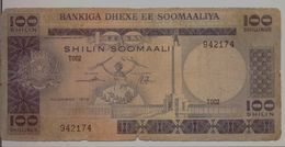 SOMALIA P. 24a 100 S 1978 Poor - Somalia