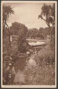 Courtenay Park, Newton Abbot, Devon, 1949 - Postcard - England
