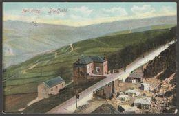 Bell Hagg Inn, Crosspool, Sheffield, Yorkshire, 1905 - JWM & RPS Postcard - Sheffield